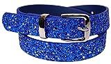 EANAGO Kindergürtel 'Eiskristall blau' für Mädchen