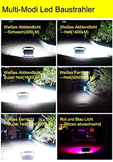 LED Akku Arbeitsleuchte Bild