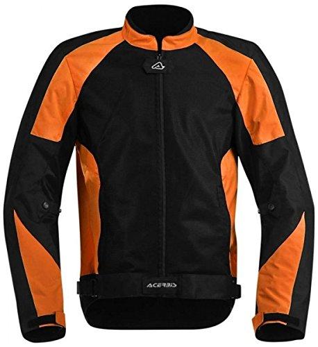 Acerbis Jacke Ramsey My Vented XL schwarz/orange