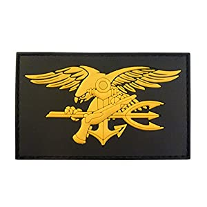 US Marine Navy Seals DEVGRU Insigne Morale NSWDG USSOCOM PVC 3D Velcro Écusson Patch