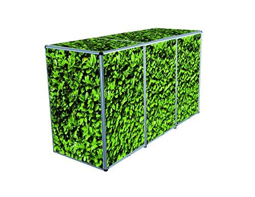 ToPaBox Mülltonnenbox, lorbeer, 80 x 210 x 122 cm, 4251260905932
