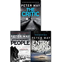 Peter May The Enzo File Series Collection 3 Books Gift Set (Entry Island Extraordinary People The Critic)