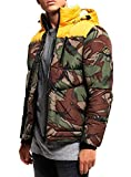 Superdry Jacke Herren Expedition Coat Bold Yellow, Größe:S
