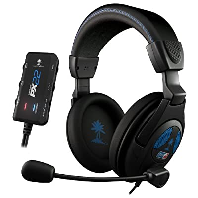 Turtle Beach Ear Force PX22 Amplified Universal Gaming Headset (Xbox 360/PS3/PC DVD/Playstation Vita/Nintendo 3DS)