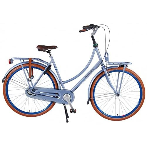 51HJIwXTDEL. SS500  - Salutoni Excellent 28 Inch 56 cm Woman 3SP Coaster Brake Ice Blue