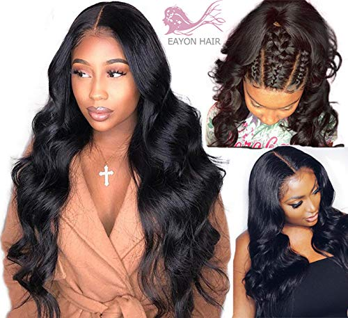 Human Hair Lace Wigs Shd Brown Color 13*6 Lace Front Wigs With Baby Hair Pre Plucked Brazilian Remy Human Hair 360 Lace Frontal Wig Body Wave Wigs Large Assortment