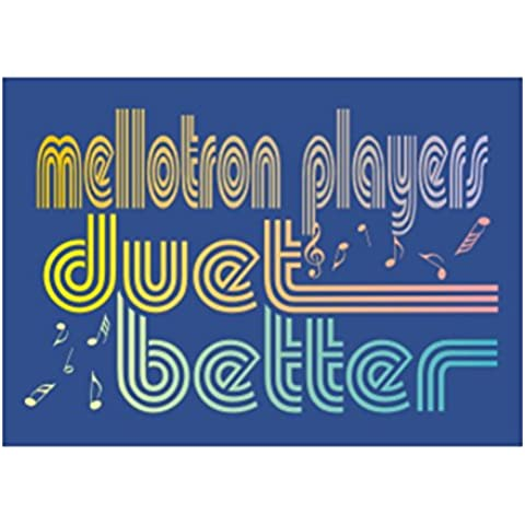 Teeburon Mellotron duet better Sticker Pacchetto di