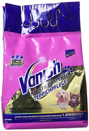 Vanish Haustier-Experte, Teppichreinigung und Polsterpflege, Teppichpulver, 750 g -