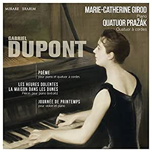 Gabriel Dupont / Oeuvres pour Piano