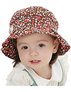 GEMVIE Sonnenhut Baby Mädchenmütze Sommerhut Baumwolle Strandhut