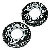 COM de Four® 2x 36102, flotador (Diseño de neumáticos, 91cm de diámetro
