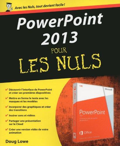 PowerPoint 2013 Pour les Nuls