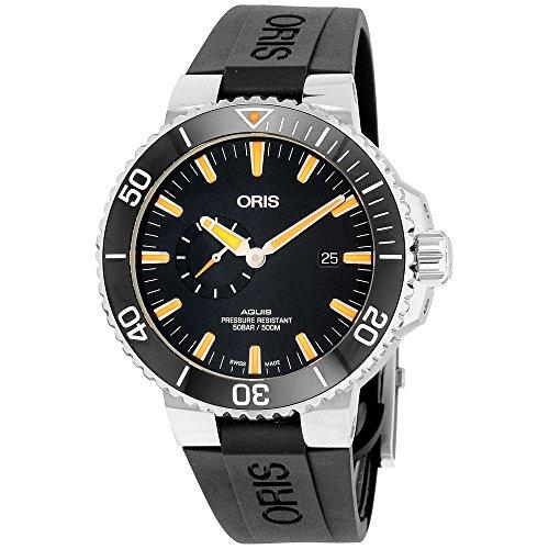 Oris Aquis Small Second, Date Men's Watch 74377334159RS
