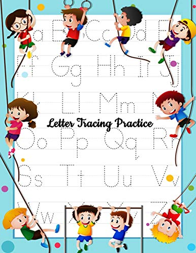 Letter Tracing Practice: Printing Practice Handwriting Workbook For Kids Plus American Sign Language (Alphabet Writing Practice) (American Sign Language Alphabet)