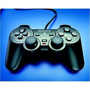 Playstation 2 – Controller Dual Shock schwarz
