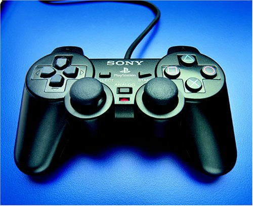 Playstation 2 - Controller Dual Shock schwarz (Original Ps2 Konsole)