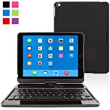 Snugg™ iPad Mini 1 / 2 / 3 360° Rotatable Keyboard Case – Ultra Slim Keyboard Case with Bluetooth Connectivity & Lifetime Guarantee (Black) For Apple iPad Mini 1 / 2 / 3