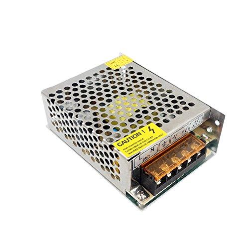 Redrex DC 12V 5A Universal Reguliert Switching Power Supply Adapter Transformator für LED-Streifen Leuchten CCTV Projekt Sicherheit Computersystem 5a Switching