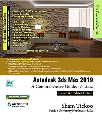 Autodesk 3ds Max 2019: A Comprehensive Guide, 19th Edition eBook