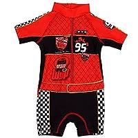 Official Licensed Minions swimming swimsuit bodysuit shorts trunks for Boys kids (98cm, Design 4)