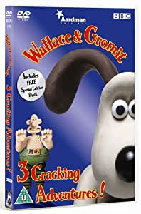 Wallace And Gromit: Three Cracking Adventures [DVD]