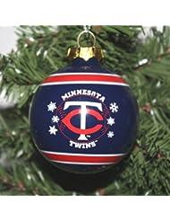 Minnesota Twins 2011 Snowflake Glass Ball Ornement de Noël