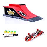 Mini skateboard per dita con rampa e set di accessori