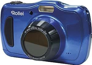 """Rollei Sportsline 100 - Appareil photo étanche, Ecran LCD 2,7"""" (6,85 cm), 20 Mpix, Zoom optique 4x, USB - Bleu"""
