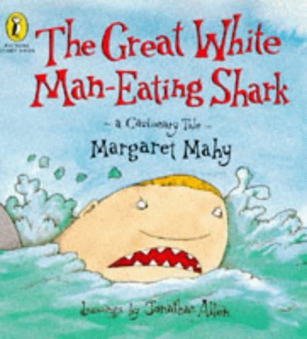 Great White Man Eating Shark (Picture Puffin Story Books) by Margaret Mahy (1996-03-05)