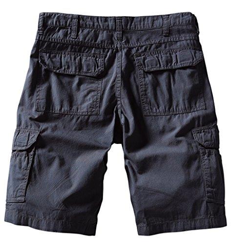 Match Herren Cargo Shorts #S3620 3055 Blau grau