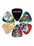 Perri\'s Leathers Lot de 6 médiators médium Iron Maiden