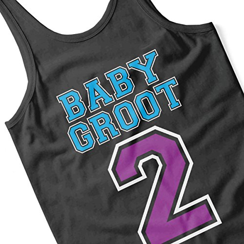 Baby Groot 2 Guardians of the Galaxy Men's Vest Black