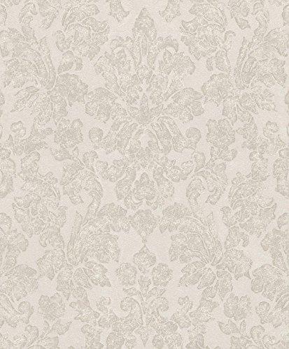Rasch Vlies Tapete - Größe: 0,53 x 10,05 m - Farbe: beige - Stil: Muster & Motive (klassisch)