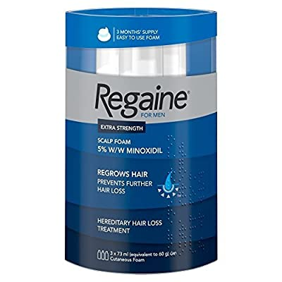 Regaine For Men Hair Regrowth Foam