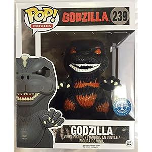 Funko Figurine Godzilla Overzised Fire Exclusive Pop 15cm 0849803071103