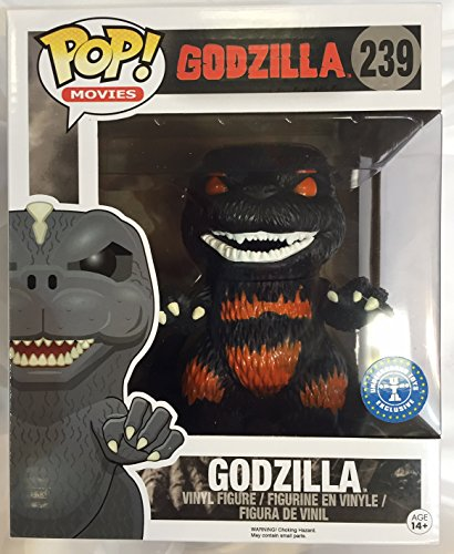 Funko Figurine Godzilla Overzised Fire Exclusive Pop 15cm 0849803071103