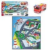 Pontypandy | Spielmatte | Spielteppich | 80 x 70 cm | Feuerwehrmann Sam