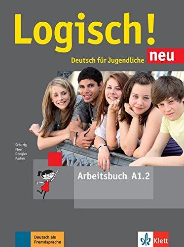 Logisch! neu a1.2, libro de ejercicios con audio online por Bruder Grimm