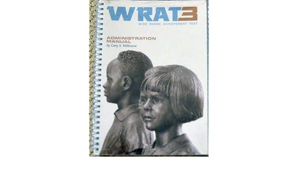 full version wrat 3 scoring manual