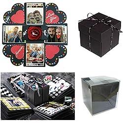 Sparta's Store Explosion Box Scrapbook Creative DIY Photo Album,Caja de Regalo Creative Explosion,Caja de Explosión.Regalos de Aniversario,Regalos de cumpleaños.