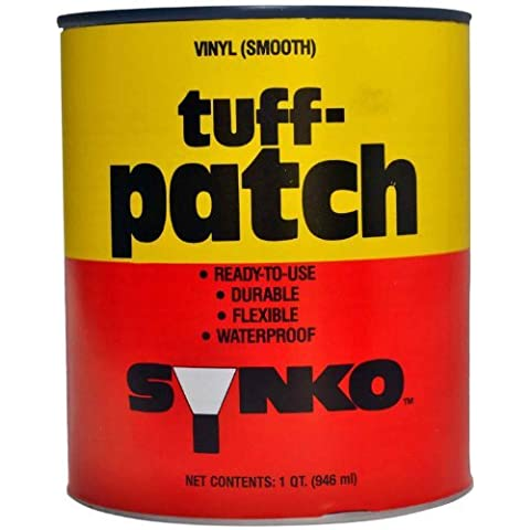 Synkoloid Tuff Patch Smooth Vinyl Patch and Repair Compound 03004, Quart by Synkoloid Company