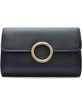 Vain Secrets Damen Umhänge Tasche Clutch Abendtasche in vielen Farben