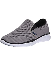 Skechers Sport Men's Equalizer Double Play Slip-On Loafer, Gray, 8 M US