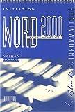 Image de Word 2000 sous Windows. Initiation