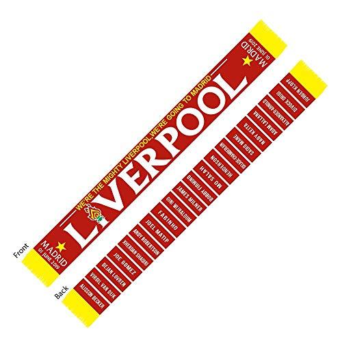 Club Licensed Liverpool Finale 2019 Mannschaft Schal -