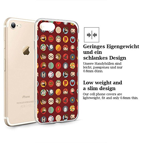 cf99b717f9922d ... finoo | iPhone 7 Weiche flexible lizensierte Silikon-Handy-Hülle | Transparente  TPU Cover ...