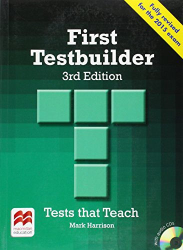First testbuilder. Without key. Per le Scuole superiori. Con CD Audio