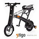 STIGO® Plus Elektro Scooter City Bike LE1 Street Legal Klapprad
