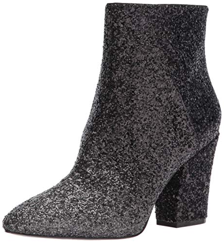Nine West Damen Savitra Stiefel, Grau (Silver/Black), 40 EU (10 US)