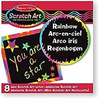 ____Melissa & Doug 15931 - Spielwerkzeug, Rainbow Mini Scratch Art Notes, mehrfarbig